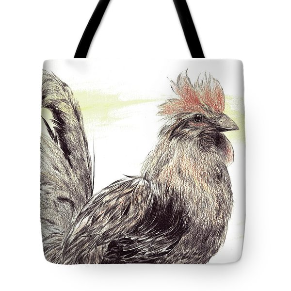Pride Of A Rooster Tote Bag