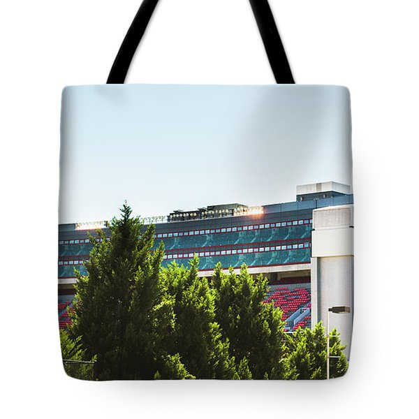 Tote Bag featuring the photograph Pride Of Athens by Parker Cunningham