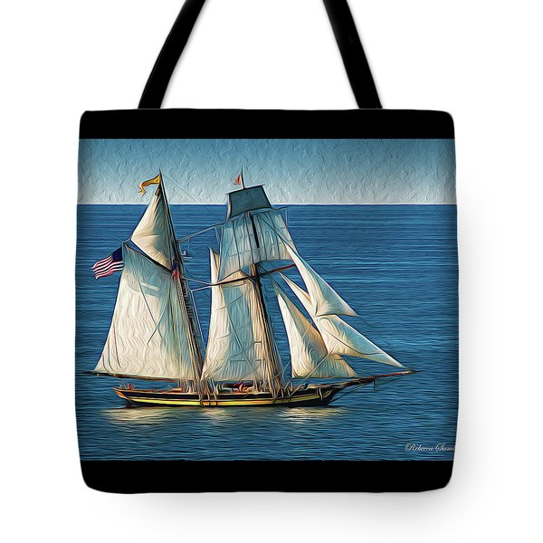 Pride Of Baltimore Tote Bag