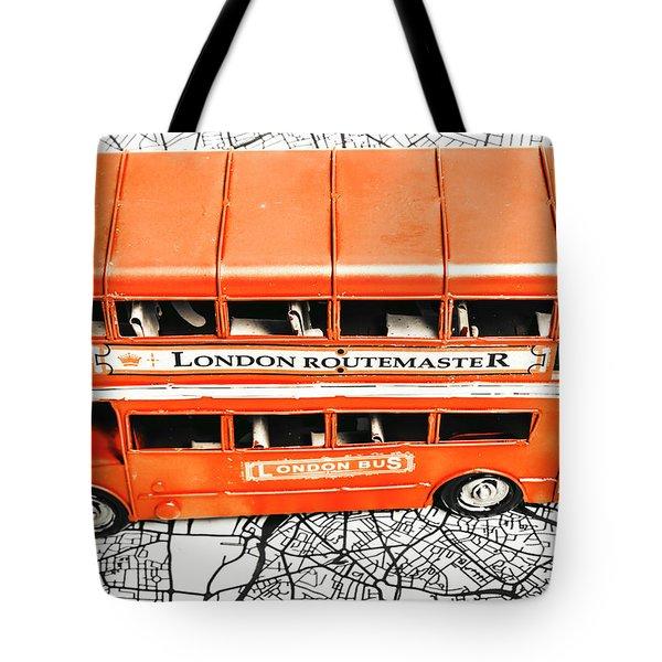 The Pride Of London Tote Bag