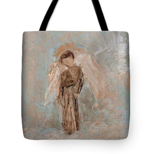 Priest Angel Tote Bag