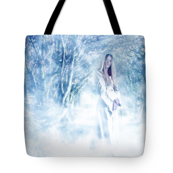 Priestess Tote Bag by John Edwards