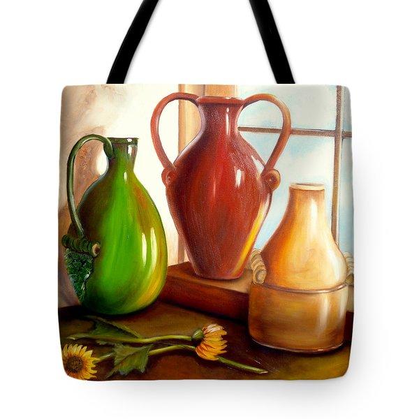 Primarily Jugs. Sold Tote Bag