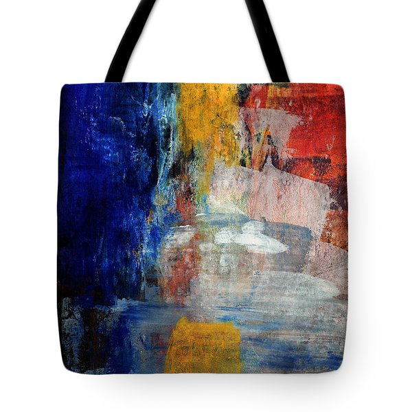 Primary- Art By Linda Woods Tote Bag