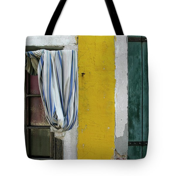 Primary Colours Of Burano Tote Bag