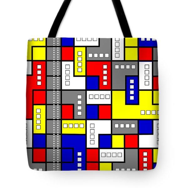 Primary Passion Tote Bag by Tara Hutton