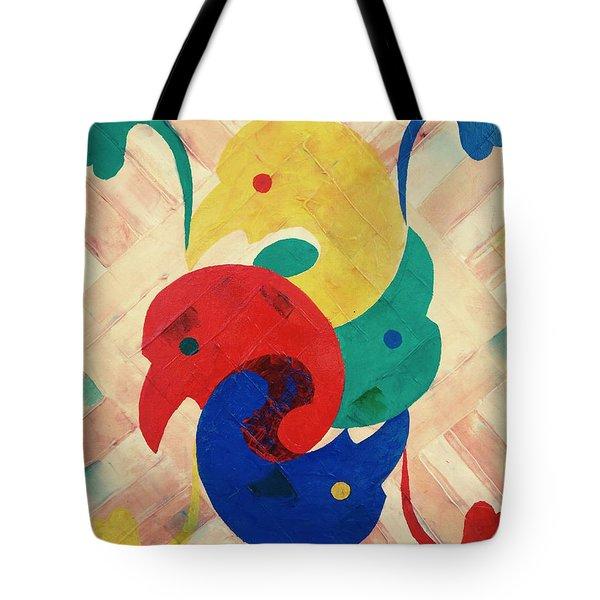 Primary Plus Tote Bag
