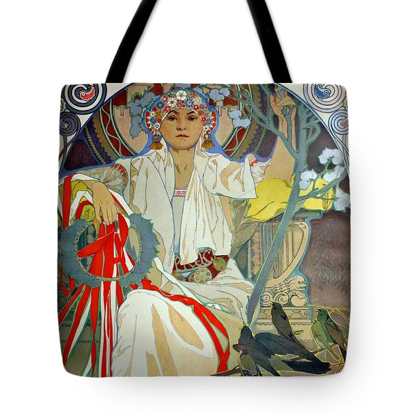 Tote Bag featuring the photograph Primavera 1914 by Padre Art