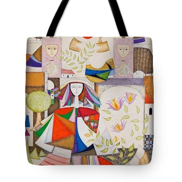 VIDA Tote Bag - Spring Fling by VIDA u95MoD