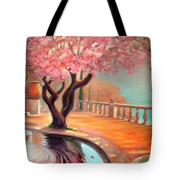 Tote Bag featuring the painting Primavera by Michael Rock