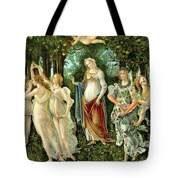 Primavera Or Spring Tote Bag