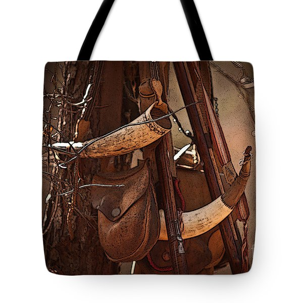 Primitive Arsenal Tote Bag