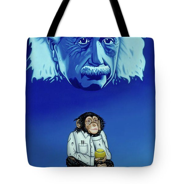 Tote Bag featuring the painting Primitive Daydream by Paxton Mobley