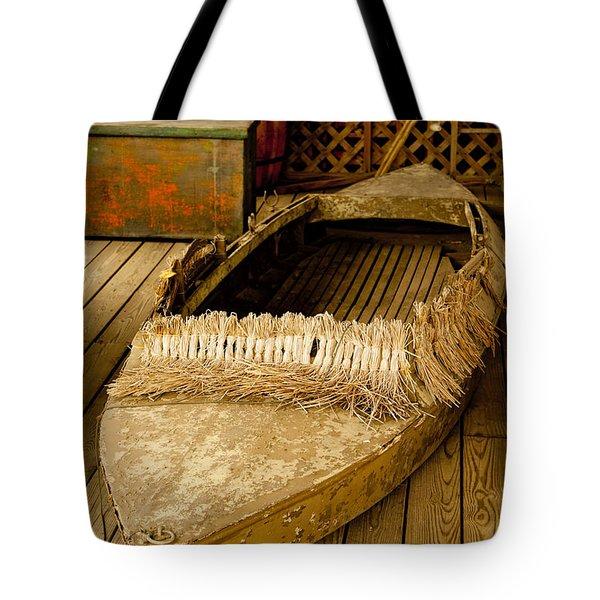 Primitive Duck Skiff Tote Bag