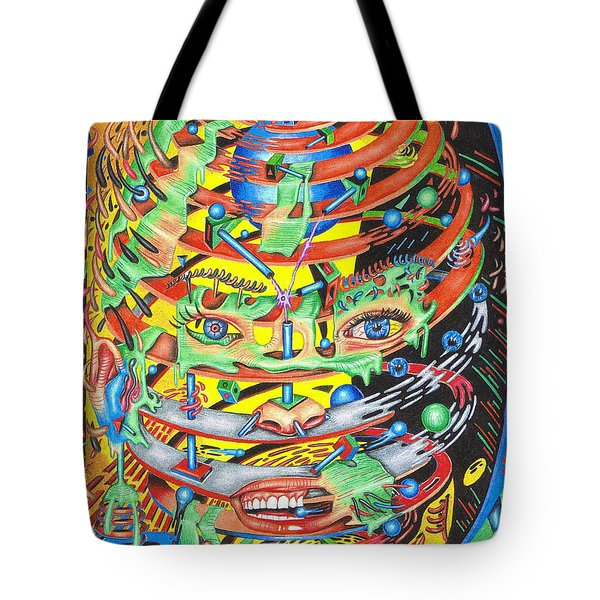 Primordial Inception Of Life At Daybreak Tote Bag