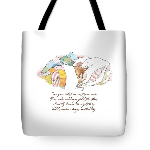 Primrose Goes To Sleep Tote Bag