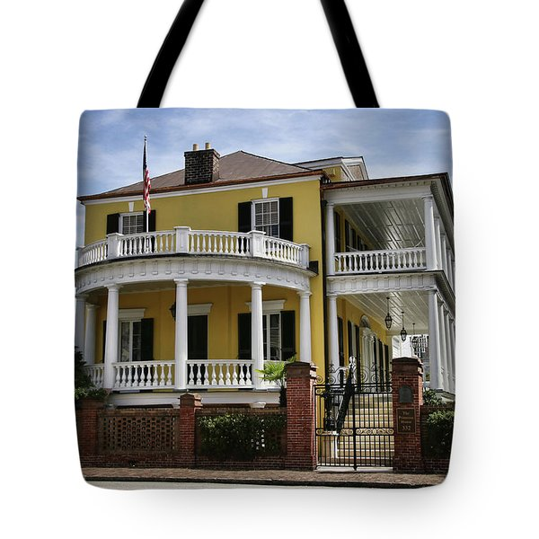 Primrose House Tote Bag