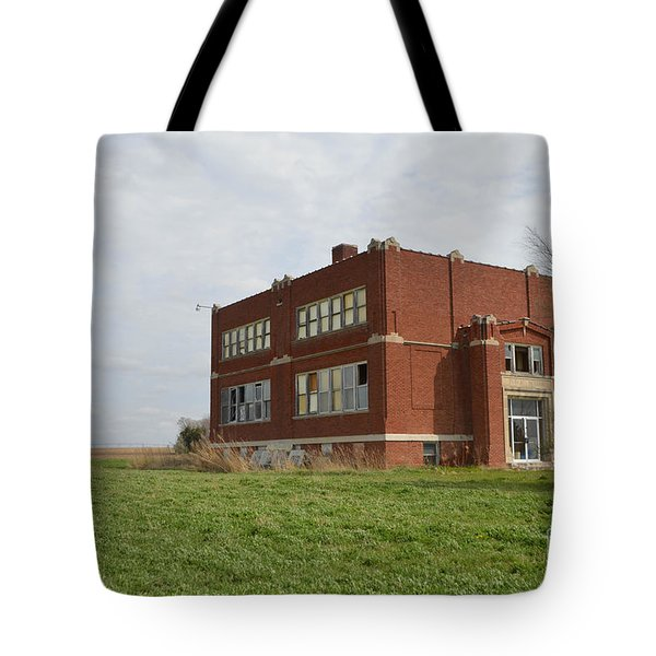 Primrose Nebraska School Tote Bag