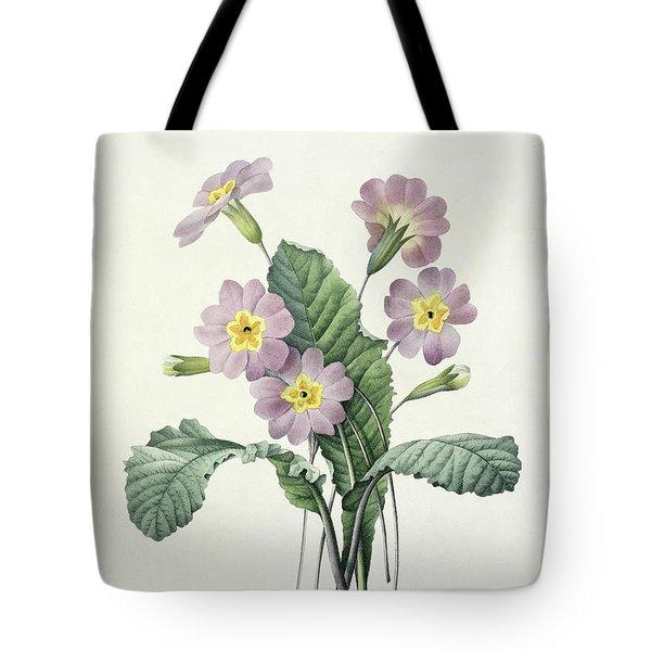 Primrose Tote Bag by Pierre Joseph Redoute