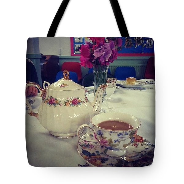 Primrose Vintage Tea Tote Bag