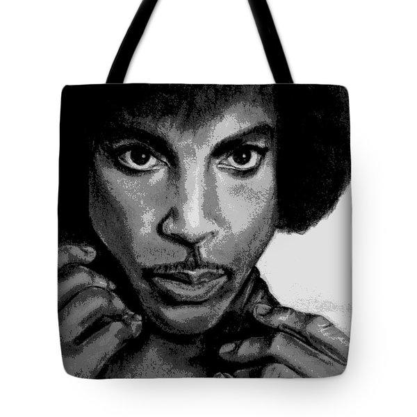 Prince Art - Pencil Drawing From Photography - Ai P. Nilson Tote Bag