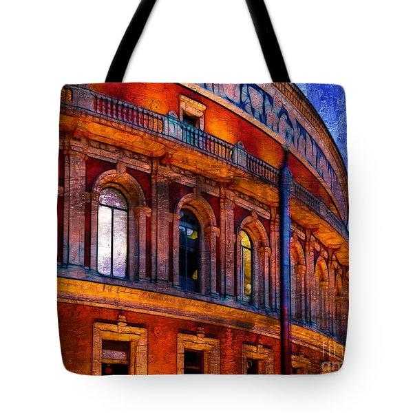 Royal Albert Hall, London Tote Bag