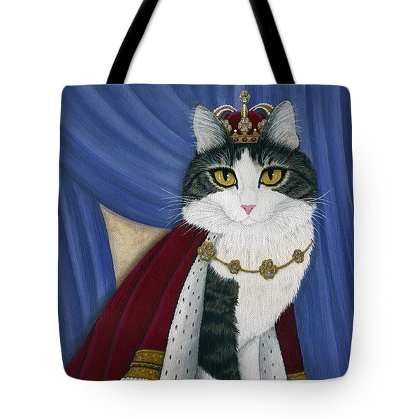 Prince Anakin The Two Legged Cat - Regal Royal Cat Tote Bag