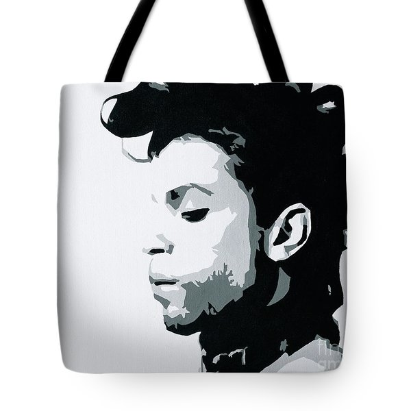 Prince Tote Bag by Ashley Price