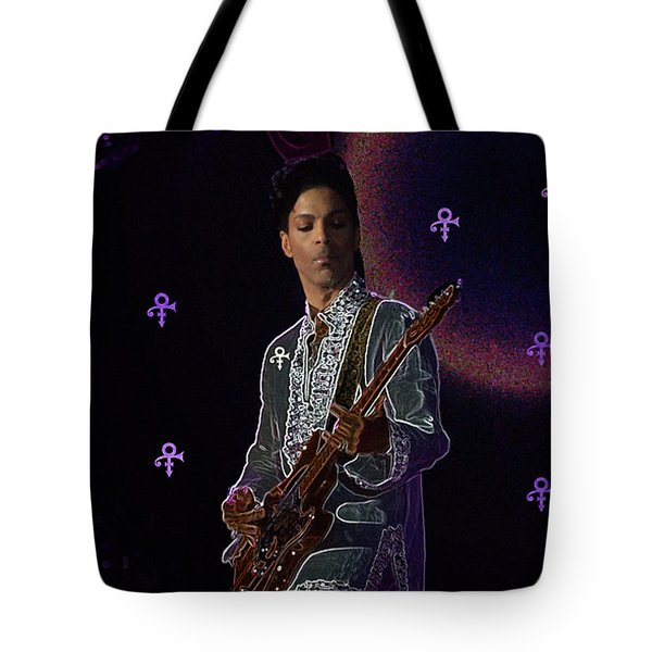 Prince At Coachella Tote Bag