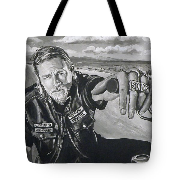 Prince Charming - Jax Tote Bag by Tom Carlton