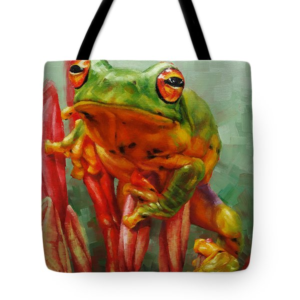 Prince Charming In Disguise Tote Bag by Margaret Stockdale