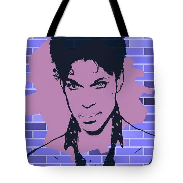 Prince Graffiti Tribute Tote Bag
