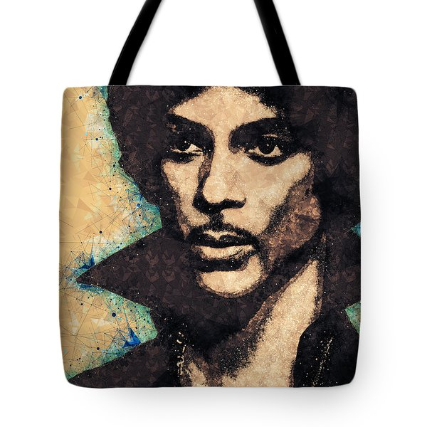 Prince Illustration Tote Bag