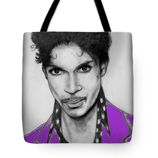 Prince In Purple Tote Bag