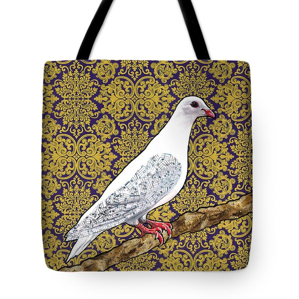 Ode To A Singer Tote Bag