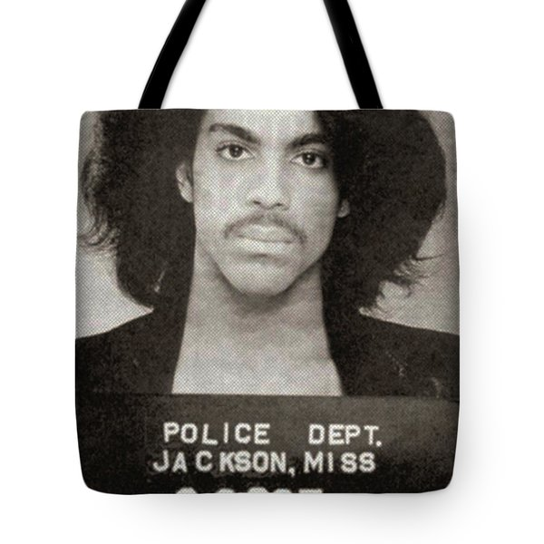 Prince Mug Shot Vertical Tote Bag
