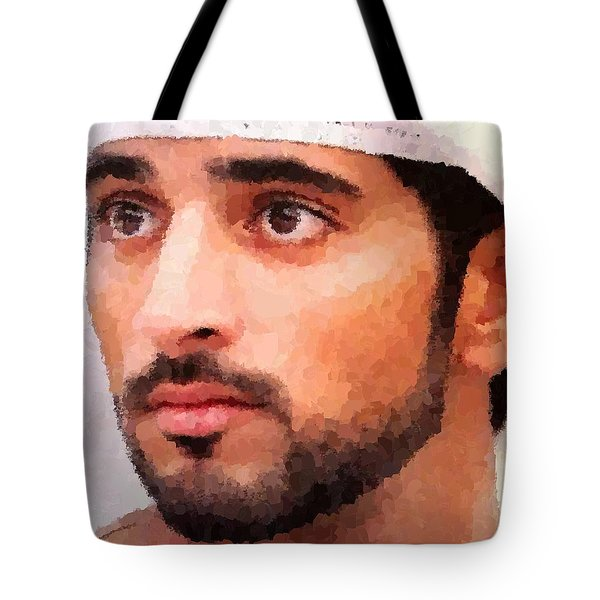 Prince Of Dubai Tote Bag