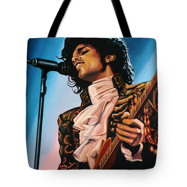 Prince Painting Tote Bag