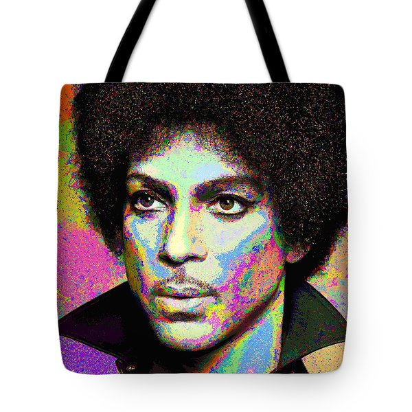 Prince Portrait Tote Bag