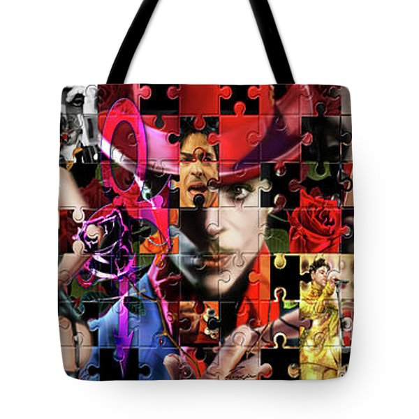 Prince Puzzle Of Missing Pieces 1 Tote Bag