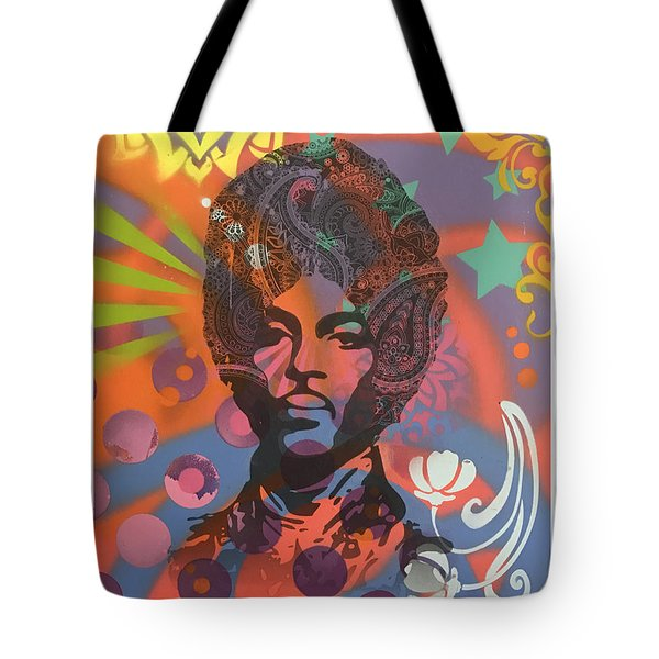 Tote Bag featuring the painting Prince Spirit by Dean Russo