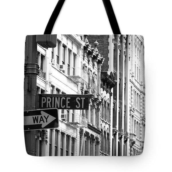 Prince Street Tote Bag