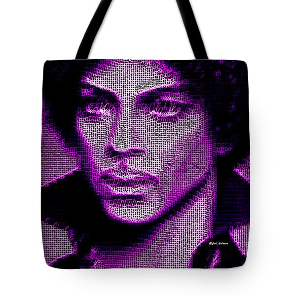 Prince - Tribute In Purple Tote Bag