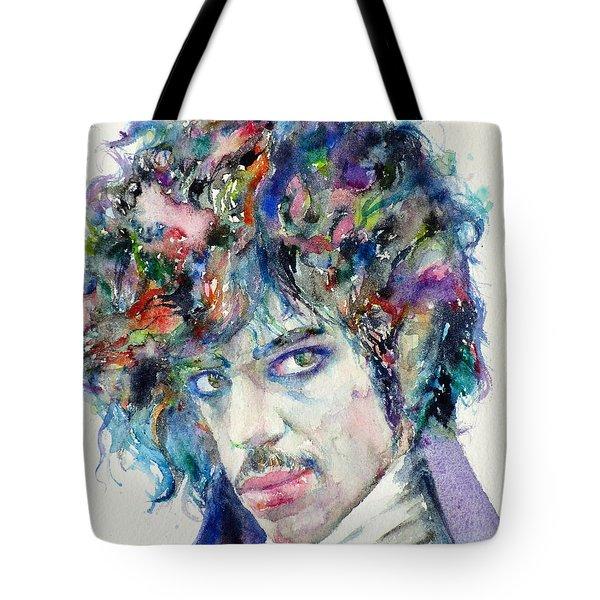 Prince - Watercolor Portrait Tote Bag