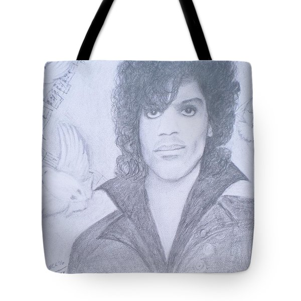 Prince When Doves Cry Tote Bag by Christy Saunders Church