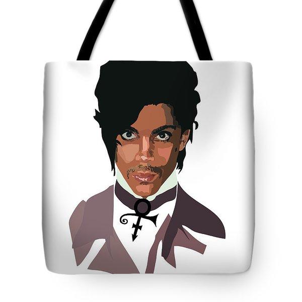 Prince With Symbol Tote Bag