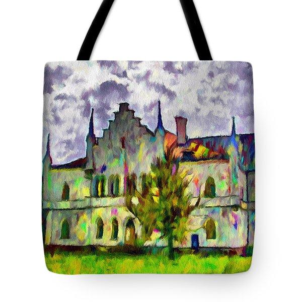 Princely Palace Tote Bag by Jeff Kolker