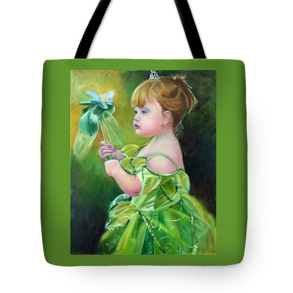 Princess Addie Tote Bag