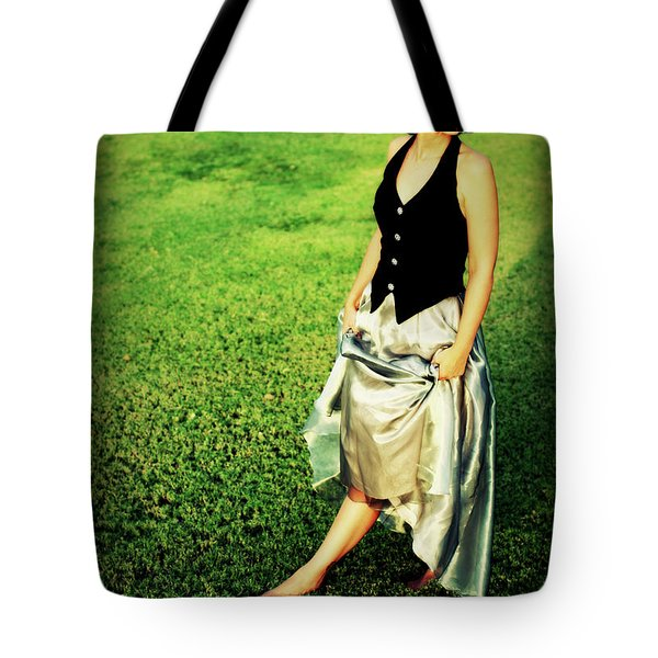 Princess Along The Grass Tote Bag