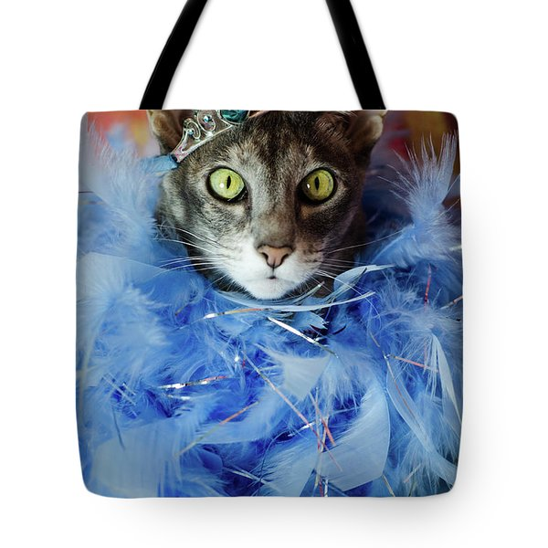 Princess Cat Tote Bag